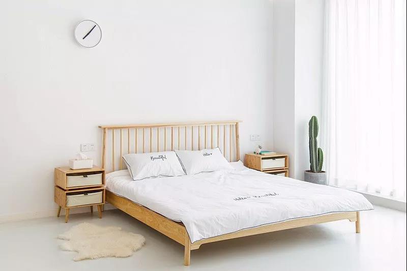 卧室地板背景素材