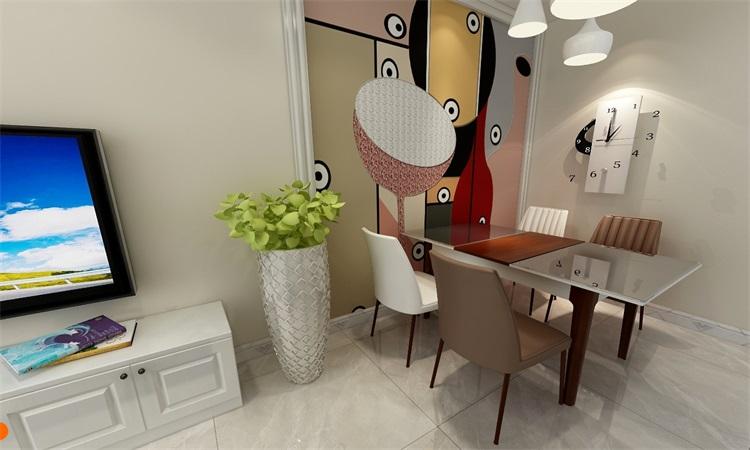 现代 卧室3D效果图