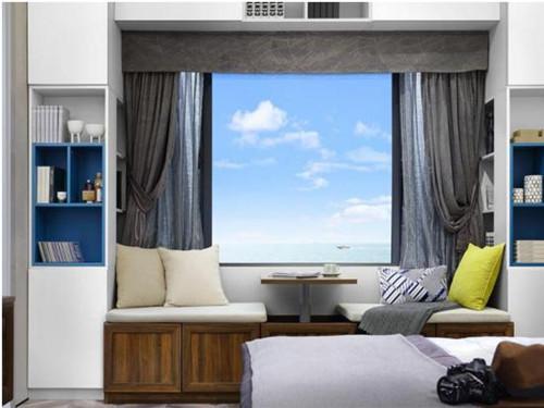 小户型飘窗设计效果图 带你感受精美温馨的飘窗空间