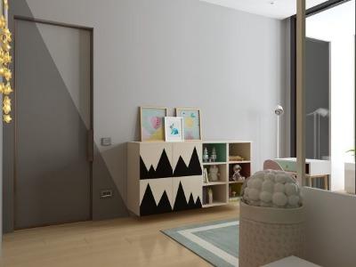 房间柜子做前面设计图