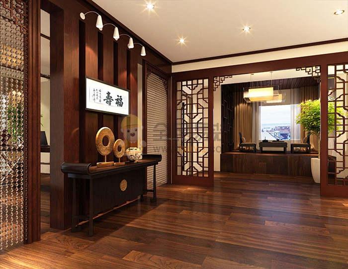客厅木地板装修效果图,客厅木地板装修效果图案例