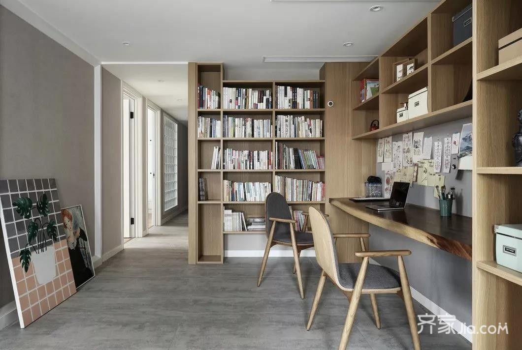 装修效果图,现代北欧风家居装修案例效果图-齐家装修网图片