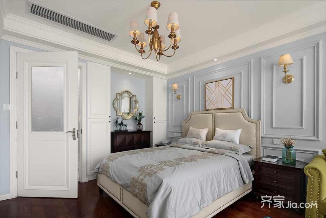 清新美式一居室单身公寓图片