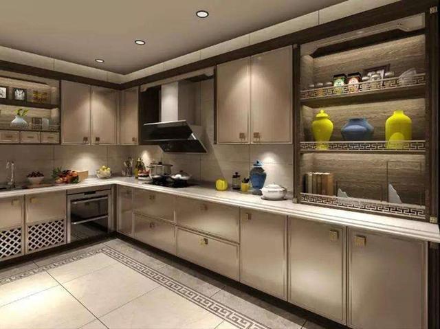 厨房装修成新中式风格,老公恨不得每天都回家吃饭