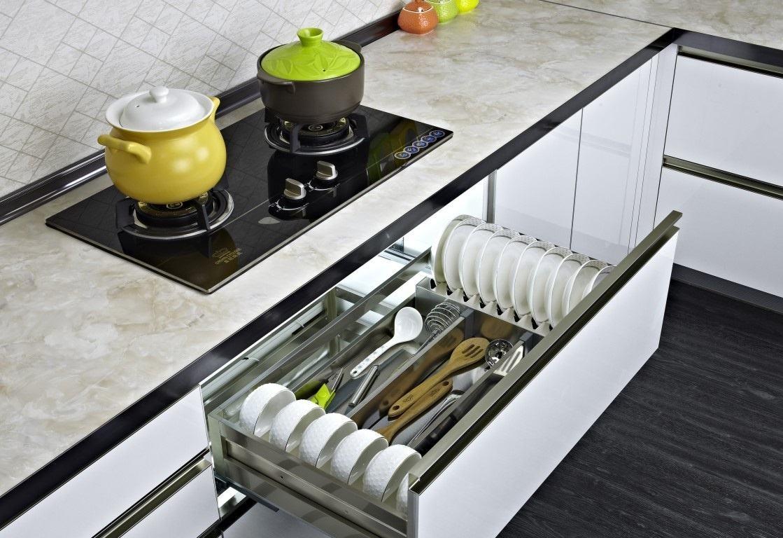 厨房拉篮:让厨房瞬间井然有序