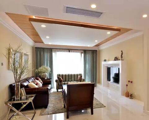 客厅顶的装修 五款实用客厅吊顶推荐
