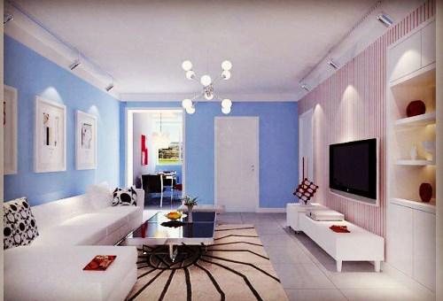 客厅茶几地毯效果图3、