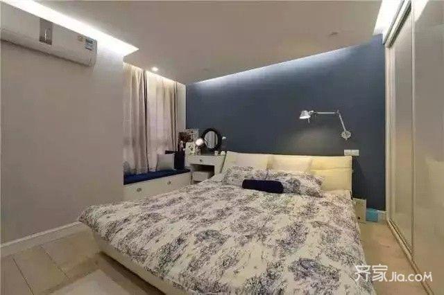 装修设计 成都装修 成都装修案例 89㎡美式小清新   小房间可以承担多图片