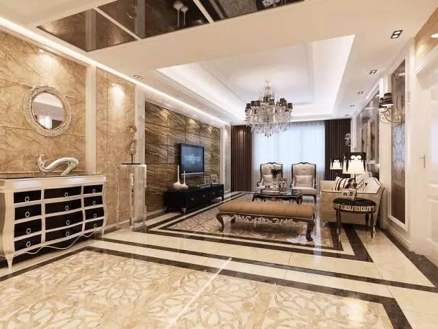 选购之前先观察瓷砖表面,确保瓷砖光洁度完好,四周平整,图案花纹