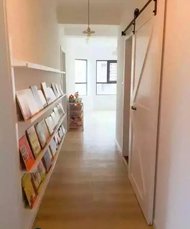 家里有走廊过道这样设计更好看!