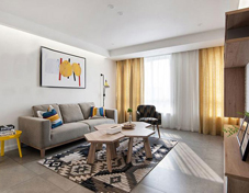 135平宜家三居室 溫和的美感