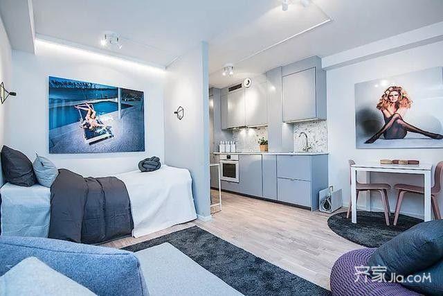 25平单身公寓案例常见问题,疑问解答-齐家装修网