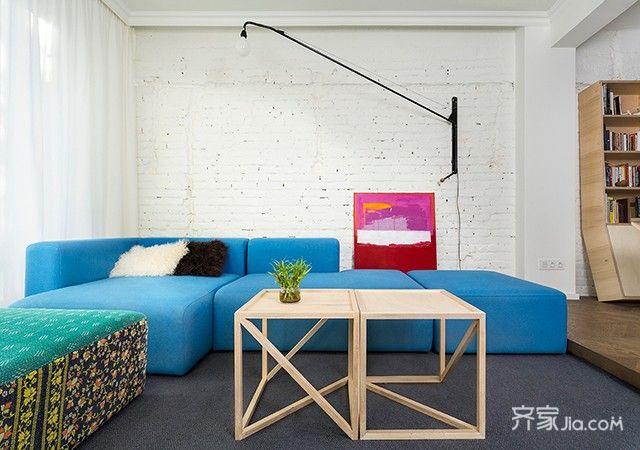 現代簡約一居室 (6)
