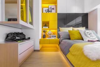 60平小公寓装修卧室设计图