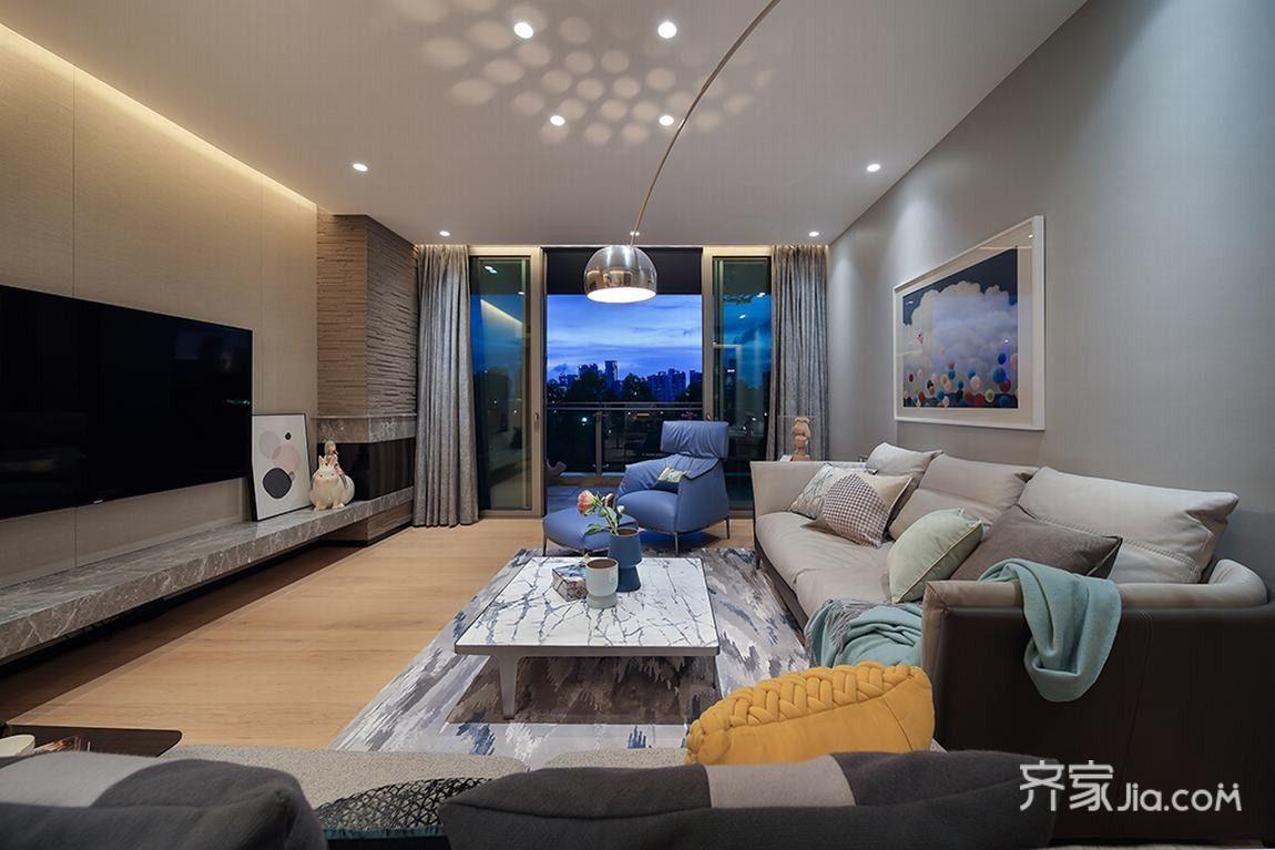 147平米現代簡約三居室