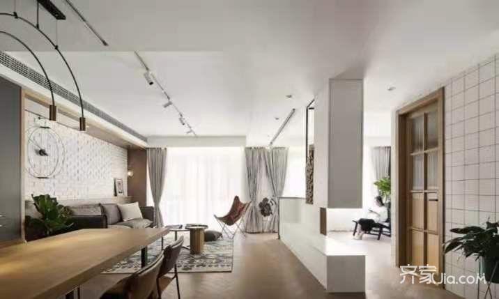 160㎡舒適簡約復式住宅