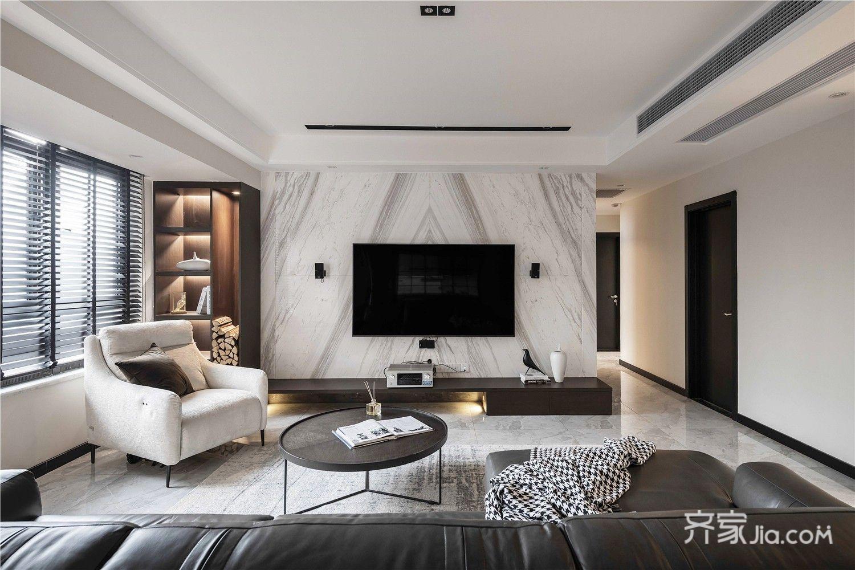 114平米兩居室現代風