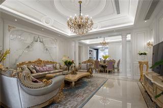 大户型欧式风格客厅装修效果图