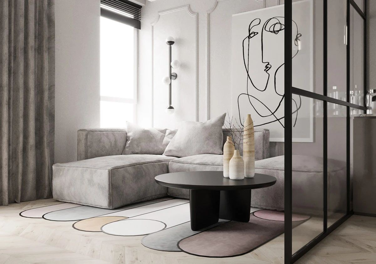功能性和美學的小公寓