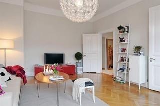 清新多彩北欧风小公寓设计