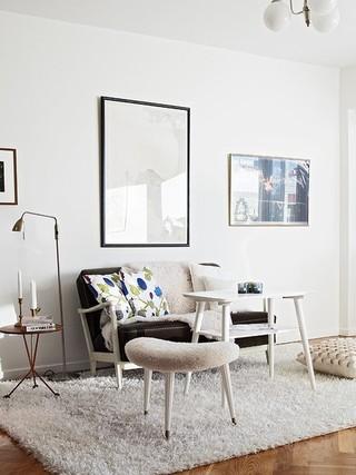 宜家北欧风 轻松舒适的单身公寓