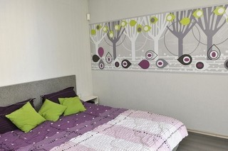 浪漫紫色系打造现代简欧风公寓