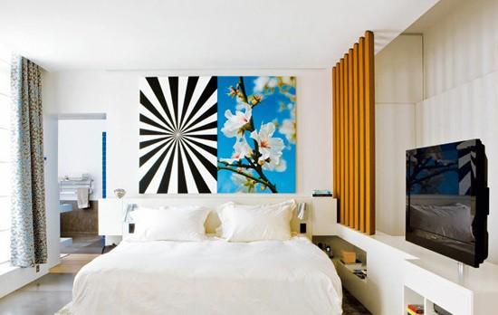 简洁日式卧室装修效果图