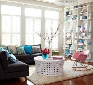 89平公寓室内北欧设计装修图