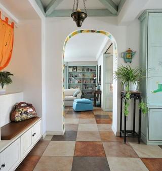 地中海风格90平小三居装修图