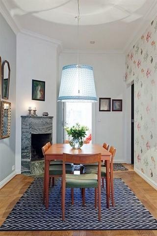 清新浪漫北欧风情小公寓效果图