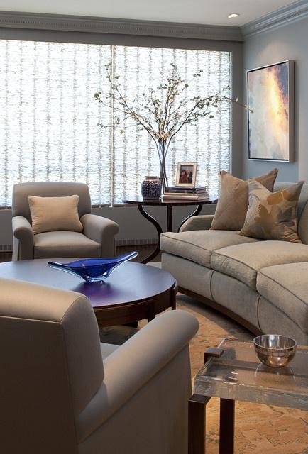 简约文艺范客厅 布艺沙发设计