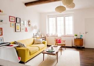 清新多彩北欧风 小公寓效果图
