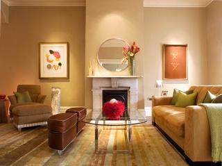 温馨现代简约客厅装饰设计