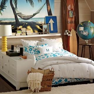浪漫美式地中海风情 小户型公寓设计