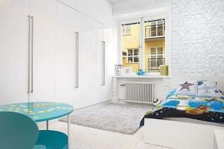 清新优雅北欧风情公寓效果图