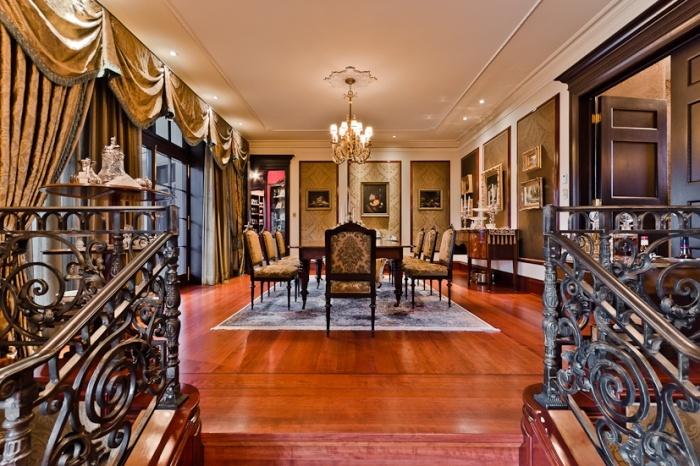 奢华美式新古典 别墅餐厅装饰大全