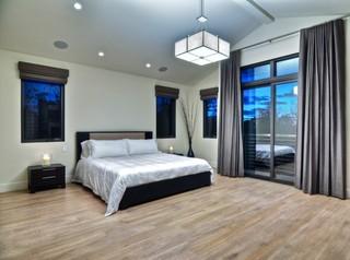 高端简约后现代 主卧室装修效果图
