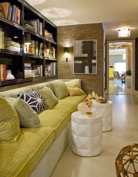 怀旧复古美式客厅布艺沙发设计