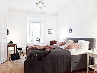58平清新北欧风 小户型公寓设计