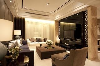 奢华现代欧式客厅装饰大全