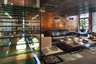 东南亚遇上工业风 复古公寓实景图欣赏