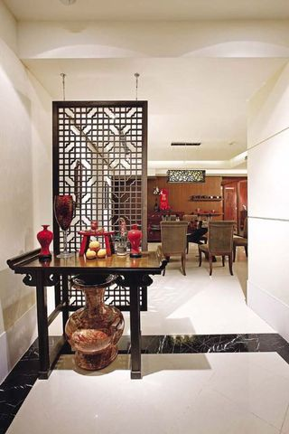 现代中式混搭130平公寓装饰
