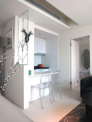 时尚黑白简约北欧风情公寓效果图