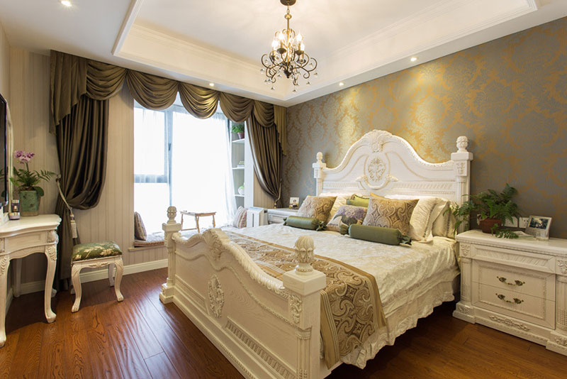 各式风格家装卧室飘窗设计图