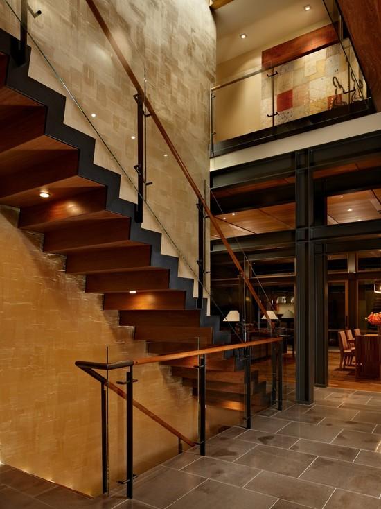 家居室内楼梯设计鉴赏图