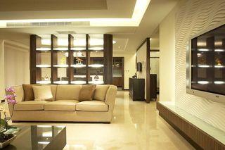 简洁朴素现代公寓装修实景图