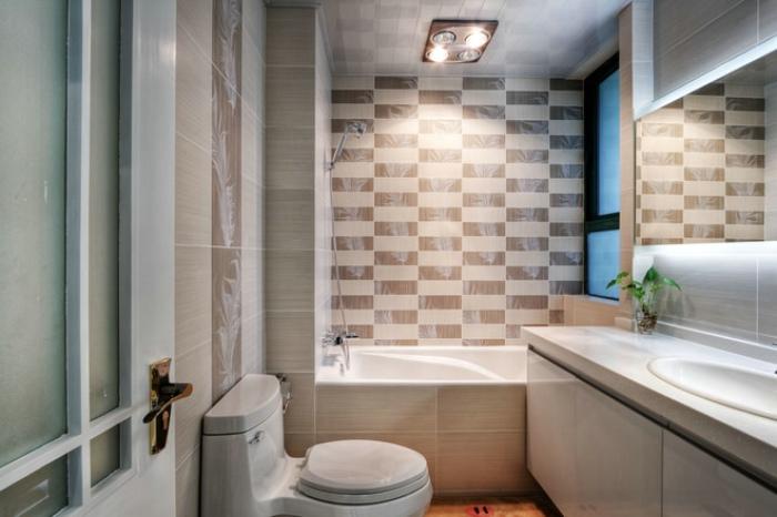 简约家装卫生间瓷砖效果图