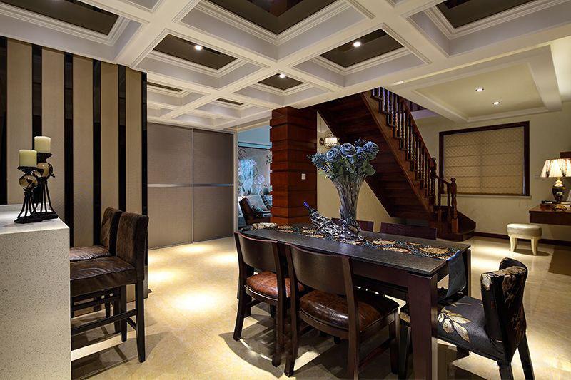 现代家装别墅室内吊顶设计