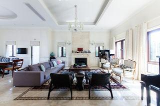 美式风格别墅客厅效果图