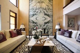 豪华中式新古典风格别墅精装案例